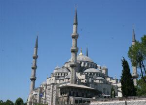 Turkije de blauwe moskee in Istanbul met visum regelen