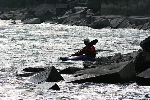 Sunkoshi kayaking